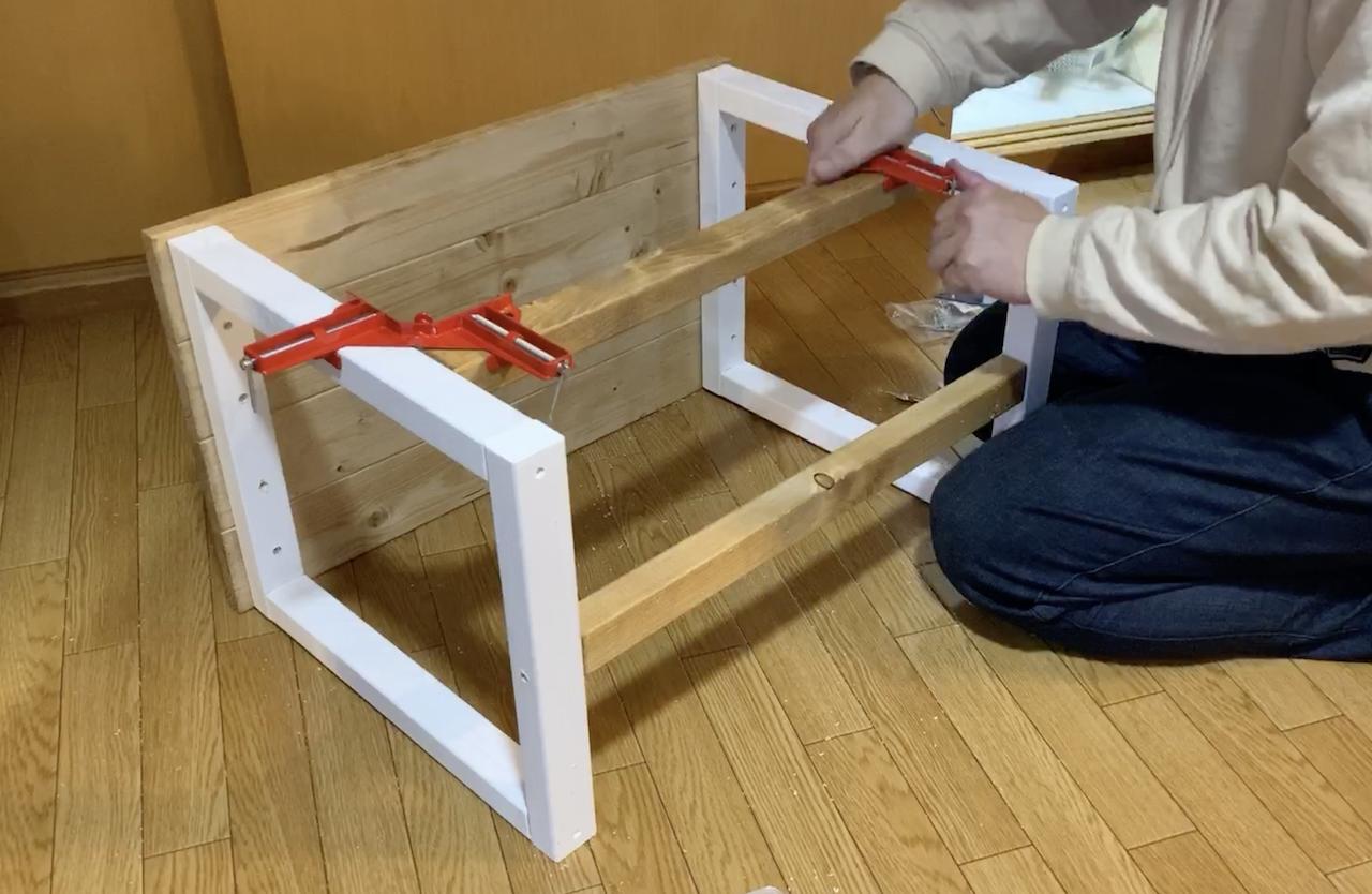 子ども机DIY