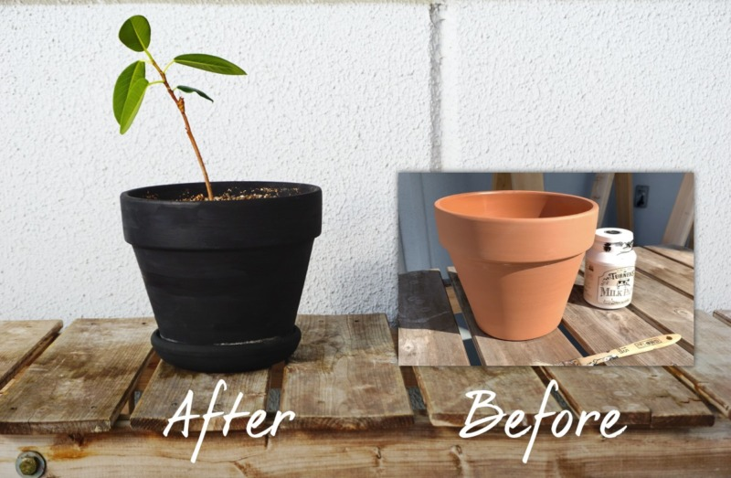 植木鉢リペイント